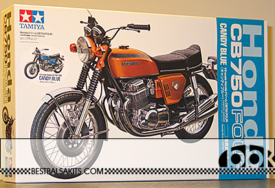 TAMIYA 1/6 TAMIYA 1/6 HONDA CB750 FOUR CANDY BLUE LIM EDITION