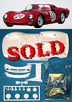 TAMIYA 1/24 SLOT CAR REPLACEMENT BODY FERRARI 330P2