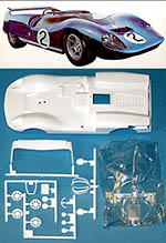 TAMIYA 1/24 SLOT CAR REPLACEMENT BODY COBRA KING