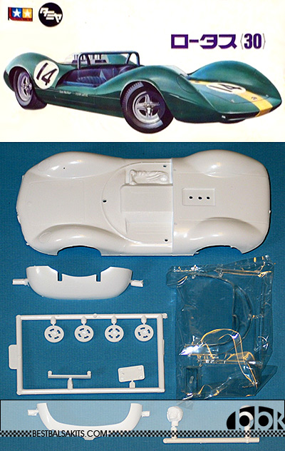 TAMIYA 1/24 SLOT CAR REPLACEMENT BODY LOTUS 30