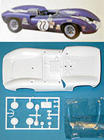 TAMIYA 1/24 SLOT CAR REPLACEMENT BODY LOLA T70 SPIDER