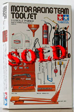TAMIYA 1/12 TAMIYA 1/12 MOTOR RACING TEAM TOOL SET
