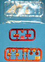 TAMIYA 1/12 CATERHAM BDR LIGHT LENSES FRONT & REAR