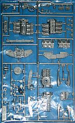 TAMIYA 1/12 PORSCHE 934 C-SPRUE (ENGINE)