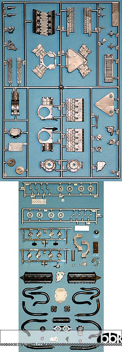 TAMIYA 1/12 FORD DFV ENGINE & TRANSMISSION