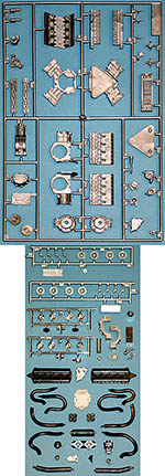 TAMIYA 1/12 FORD DFV ENGINE & TRANSMISSION