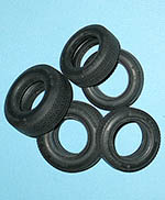 TAMIYA 1/12 PORSCHE 910 DUNLOP TIRE SET for TAMIYA