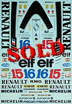 TAMIYA 1/12 TAMIYA REPLACEMENT DECAL 1/12 RENAULT RE20