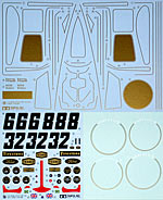 TAMIYA 1/12 TAMIYA REPLACMENT DECAL 1/12 LOTUS 72D