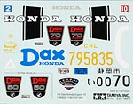 TAMIYA 1/6 TAMIYA REPLACEMENT DECAL 1/6 HONDA DAX