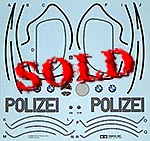 TAMIYA 1/6 TAMIYA REPLACEMENT DECAL 1/6 BMW 750 POLIZEI