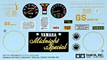 TAMIYA 1/6 TAMIYA REPLACEMENT DECAL 1/6 YAMAHA XS1100
