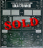 TAMIYA 1/12 TAMIYA PE DETAIL UP 1/12 LOLA T70 MKIII