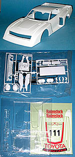 TAMIYA 1/12 TOYOTA CELICA LB TURBO Gr.5 BODY PARTS