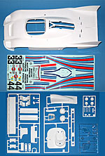 TAMIYA 1/12 PORSCHE 936 MARTINI BODY PARTS