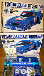 TAMIYA 1/12 TOYOTA CELICA LB TURBO Gr.5 COMPETITION SPECIAL