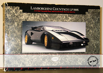 TESTORS 1/12 LAMBORGHINI COUNTACH LP500S