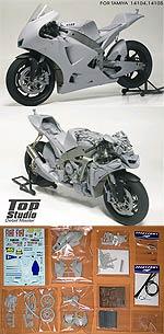 TOP STUDIO 1/12 ROSSI MOTO GP 08 TRANSKIT TAMIYA YAMAHA YZR-M1