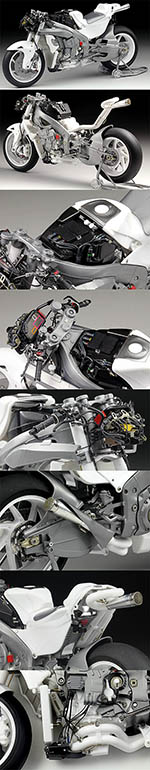 TOP STUDIO 1/12 HONDA RC213V 2014 MULTI MEDIA SUPER DETAIL UP SET