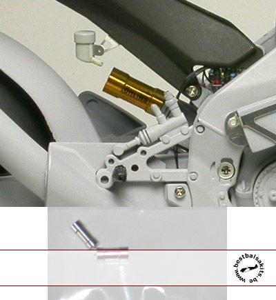 TOP STUDIO 1/12 Moto GP Reservoir Tank