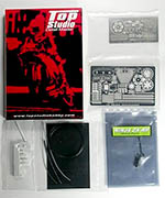 TOP STUDIO 1/12 KAWASAKI ZX-RR Detail-Up Set for TAMIYA
