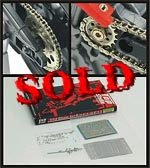 TOP STUDIO 1/12 METAL CHAIN + PE SPROCKETS TAMIYA DUCATI GP04-GP11
