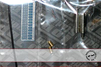 TOP STUDIO 1/12 METAL EXHAUST & SRPINGS HASEGAWA HONDA RS250W