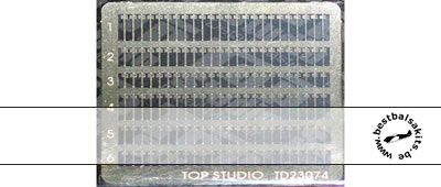 TOP STUDIO 1/20 METAL BAND WIRE SET 1/20 124pc