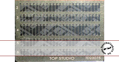 TOP STUDIO 1/12 METAL BAND WIRE SET 1/12 124pc
