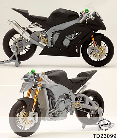 TOP STUDIO 1/12 2011 SUPER DETAIL KIT for TAMIYA 1/12 ZX-10R