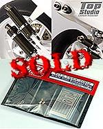 TOP STUDIO 1/12 METAL EXHAUST + PE DETAIL TAMIYA NSR500 '93-'02