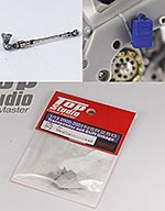 TOP STUDIO 1/12 HONDA NSR250 TRANSPONDER & ALU SHIFT LINKAGE HASE