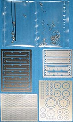 TOP STUDIO 1/12 SUZUKI RGV-R (XR74) CHAIN + PE SPROCKETS SCHWANZ