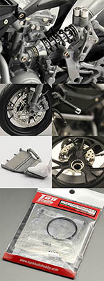 TOP STUDIO 1/12 DUCATI 1199 PANIGALE FULL DETAIL UP 1/12 TAMIYA