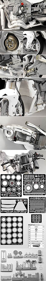 TOP STUDIO 1/12 FULL DETAIL UP HONDA RC213V MOTO GP 2014
