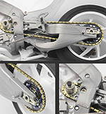 TOP STUDIO 1/12 HONDA RC213V MOTO GP '13-'16 METAL CHAIN