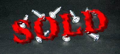 THUNDER VALLEY 1/12 ALU AIR INLET STACK SET 8pc TAMIYA 1/12 LOTUS 72D
