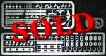 THUNDER VALLEY 1/12 DFV ENGINE DETAIL UP 1/12 TAMIYA LOTUS 72D