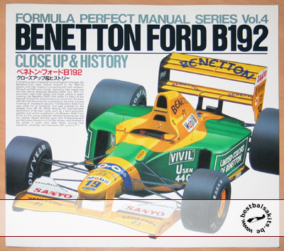 FORMULA PERFECT  CLOSE UP & HISTORY BENETTON B192