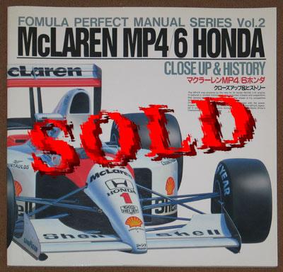 FORMULA PERFECT  CLOSE UP & HISTORY McLAREN MP4/6