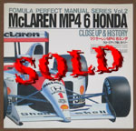 FORMULA PERFECT  CLOSE UP & HISTORY McLAREN MP4/6