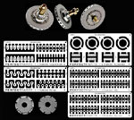 PERFECT PARTS 1/12 PERFECT PARTS 1/12 BRAKE SET FW14B MP4/6 641/2