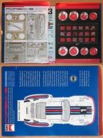 SCALE MOTORSPORTS 1/12 SCALE MOTORSPORTS PORSCHE 935 SUPER DETAIL KIT