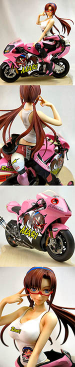 VISPO 1/6 MARI MAKINAMI PUTTING GLASSES RIGHT SEATED ON BIKE