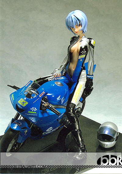 VISPO 1/6 BIKINI REI HOLDING WALLET BIKE RESIN KIT