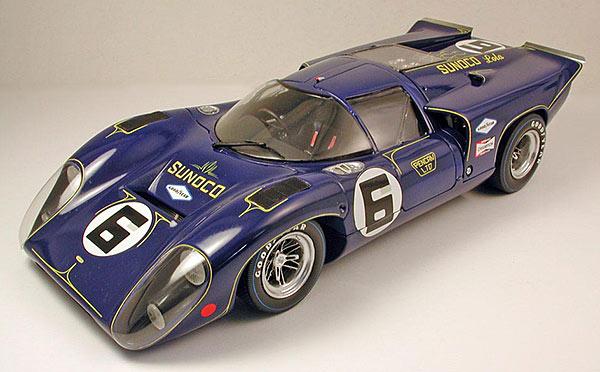 TAMIYA Lola MKIIIB Daytona 1969 winner as built by David Sorensen